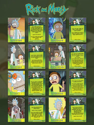 Rick and Morty Card Design