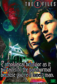 X-Files Trading Card Design