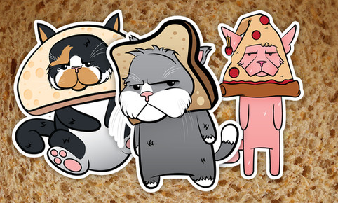 ios Sticker Character Designs