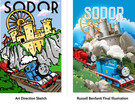 Thomas and Friends Marketing Material - Concept and Art Direction