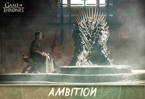 Game of Thrones Card Design