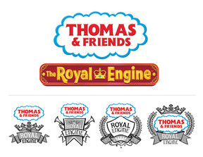 The Royal Engine Logo Development