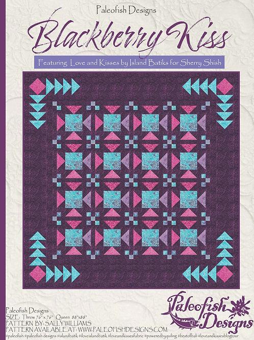 Blackberry Kiss Quilt Pattern