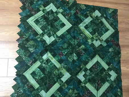 That one quilt that will probably never be finished