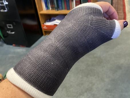 Don't break your wrist