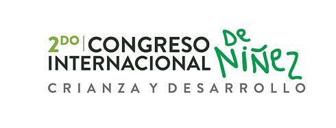 Logo Segundo congreso Internacional de Niñez