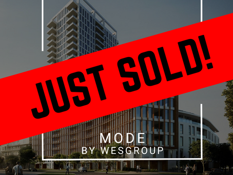 ✨ JUST SOLD BY ULIX Real Estate Group ✨ MODE BY WESGROUP