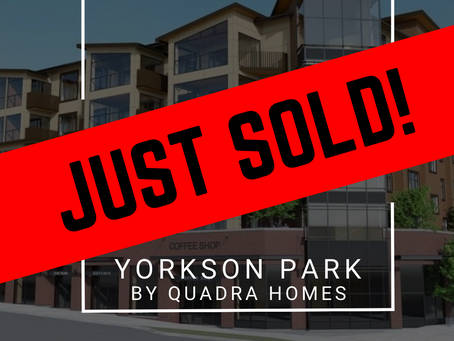 ✨ JUST SOLD BY ULIX Real Estate Group ✨ YORKSON PARK BY QUADRA HOMES