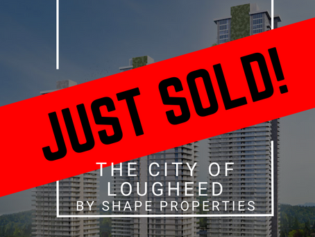 ✨ JUST SOLD BY ULIX Real Estate Group ✨ THE CITY OF LOUGHEED BY SHAPE PROPERTIES