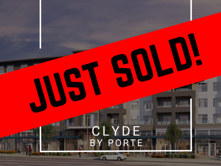 ✨ JUST SOLD BY ULIX Real Estate Group ✨ CLYDE BY PORTE COMMUNITIES