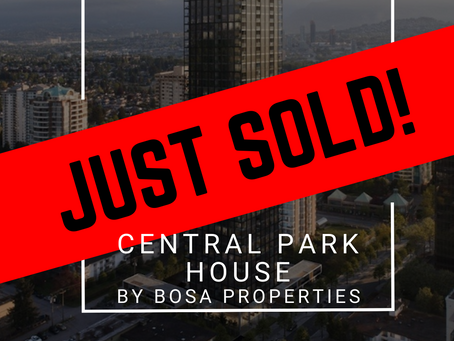 ✨ JUST SOLD BY ULIX Real Estate Group ✨ CENTRAL PARK HOUSE BY BOSA PROPERTIES