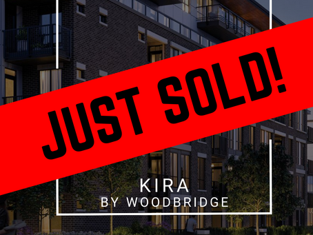 ✨ JUST SOLD BY ULIX Real Estate Group ✨ KIRA BY WOODBRIDGE HOMES