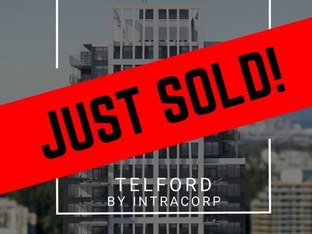 ✨ JUST SOLD BY ULIX Real Estate Group ✨ TELFORD ON THE WALK BY INTRACORP