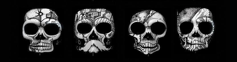 Lagoon Pirates Skull - Lazlo Licata