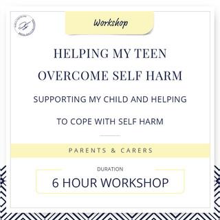 Helping my teen overcome self-harm