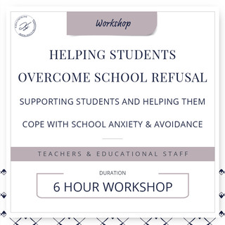 Helping students overcome school refusal