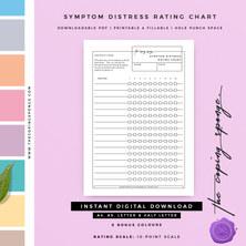 SYMPTOM DISTRESS RATING CHART