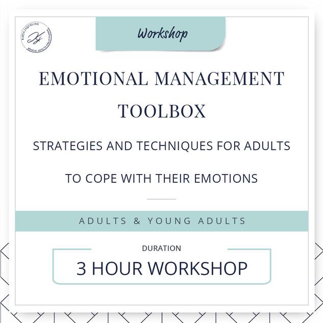 Emotional management toolbox