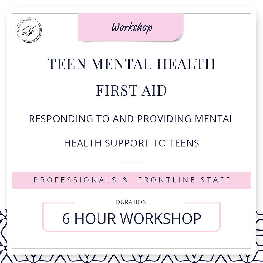 Teen mental health first aid