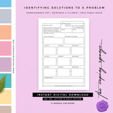 IDENTIFYING SOLUTIONS TO A PROBLEM