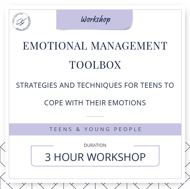 Emotional management toolbox