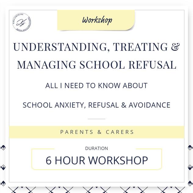 Understanding, treating and managing school refusal