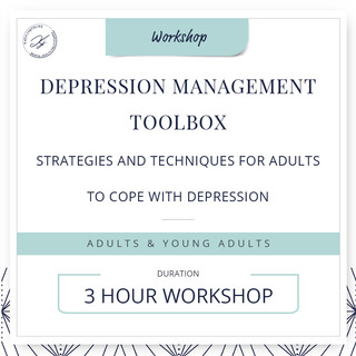 Depression management toolbox