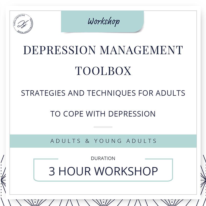 Depression management toolbox