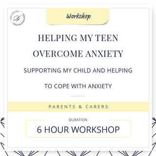 Helping my teen overcome anxiety