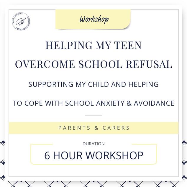 Helping my teen overcome school refusal