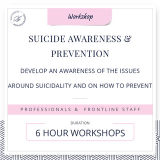 Suicide awareness and prevention