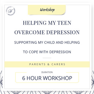 Helping my teen overcome depression