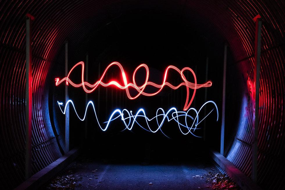 linee luminose