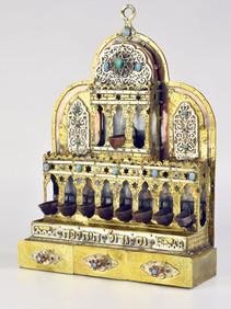 Handmade Israel Silver Judaica Chanukah Menorah by Efim Levin