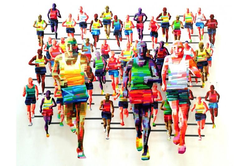Marathon Berlin by David Gerstein