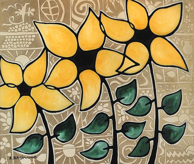 Sunflowers by Avi Ben-Simhon
