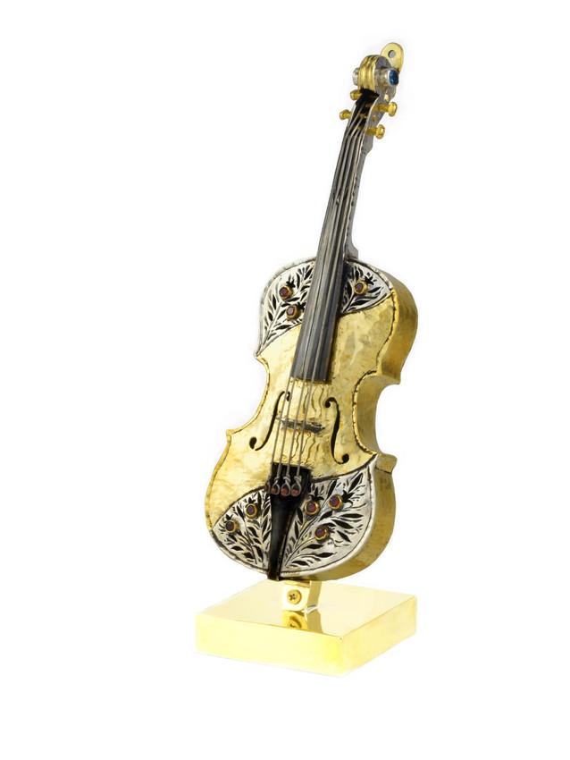 Hanmade Violin Statue/Ornament by Efim Levin