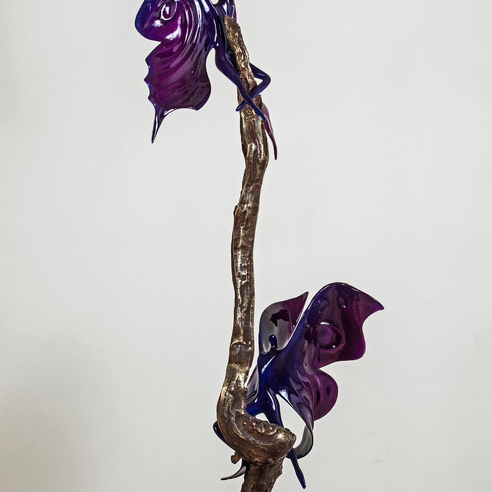 Courtship Sculpture by Gadi Fraiman