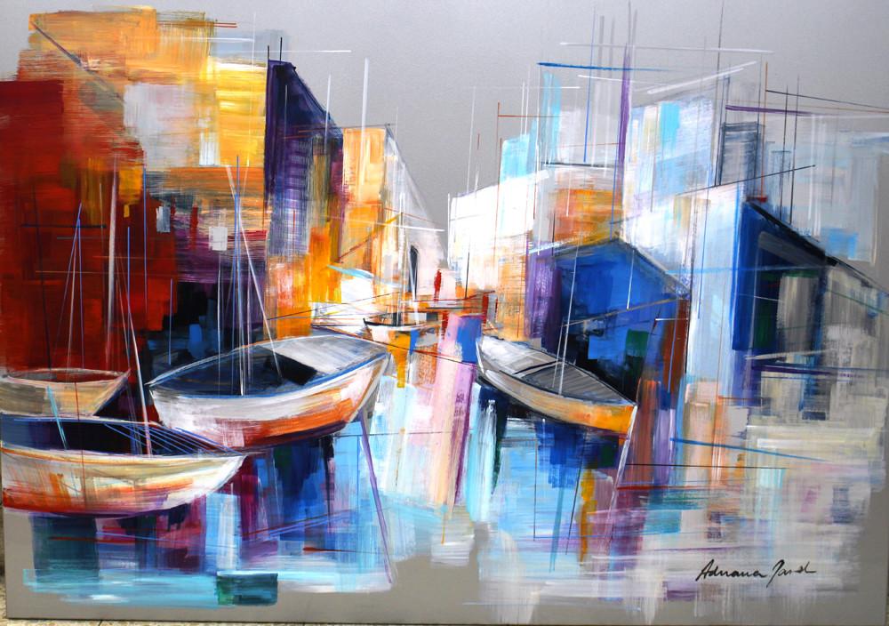 Boats by Adriana Naveh