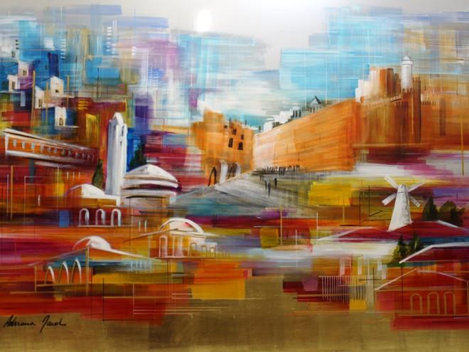 Jerusalem by Adriana Naveh