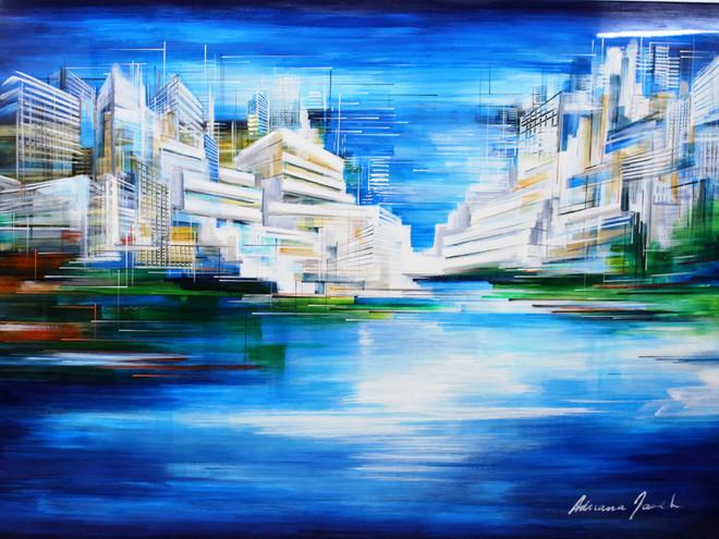 Tel Aviv Port by Adriana Naveh