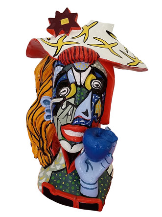 Picasso Sculpture by Mahler