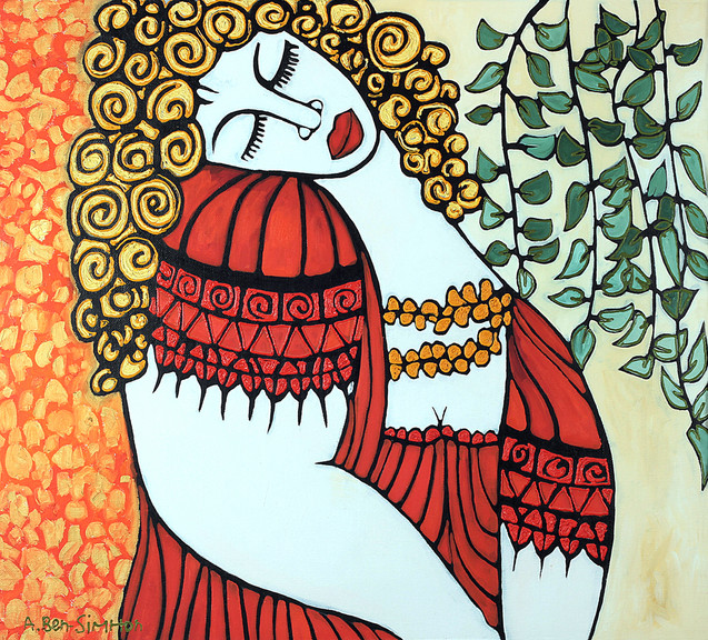 majestic woman by Avi Ben-Simhon