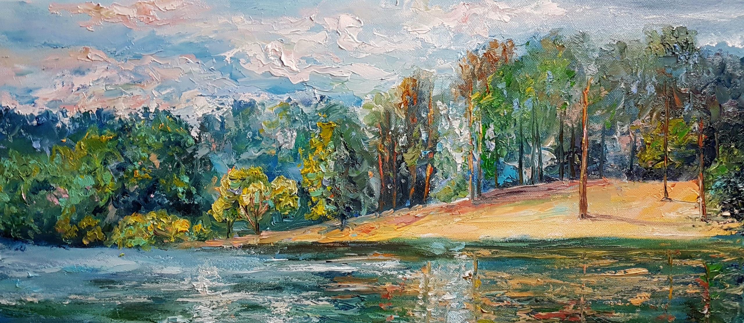 Суздальское озеро, СПб.