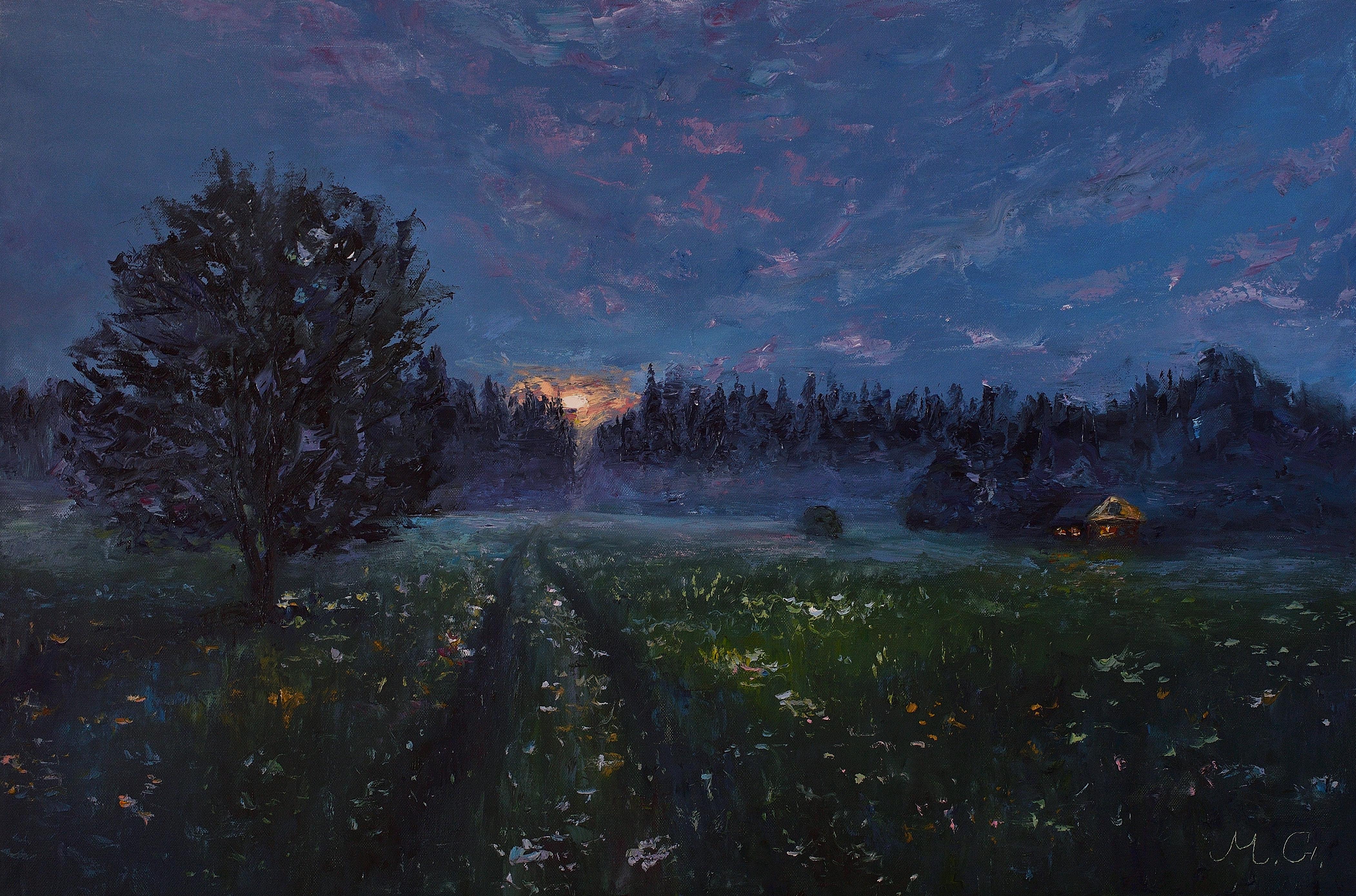 Ночь, луна и тишина. Арбонье