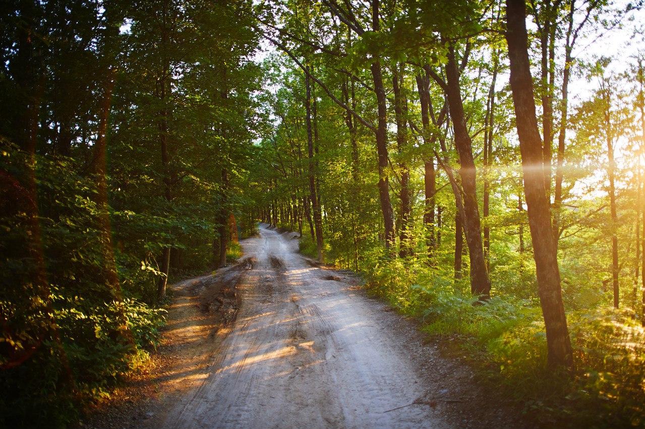 Дорога на скалу Киселева
