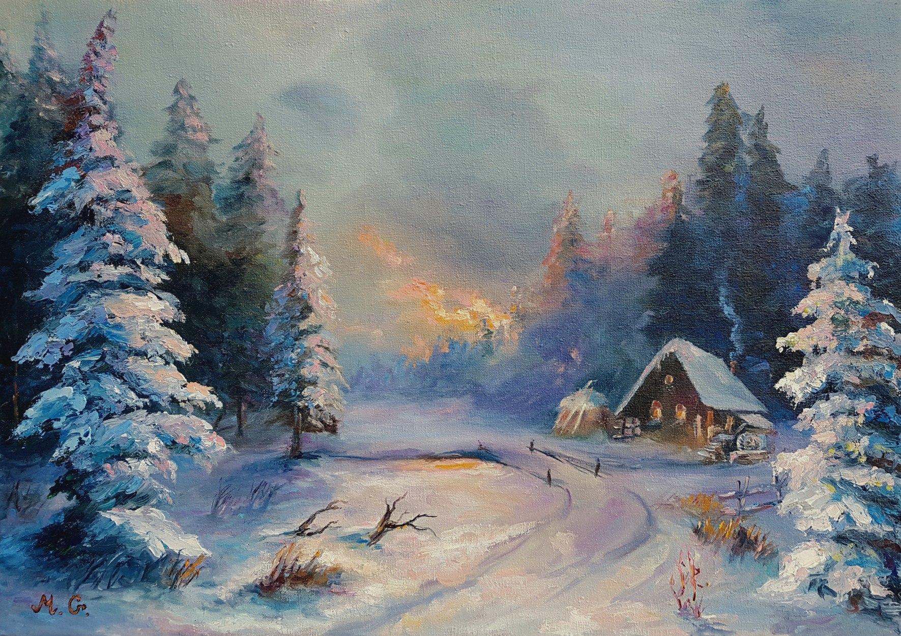 """Snowmill"" Снежная мельница."