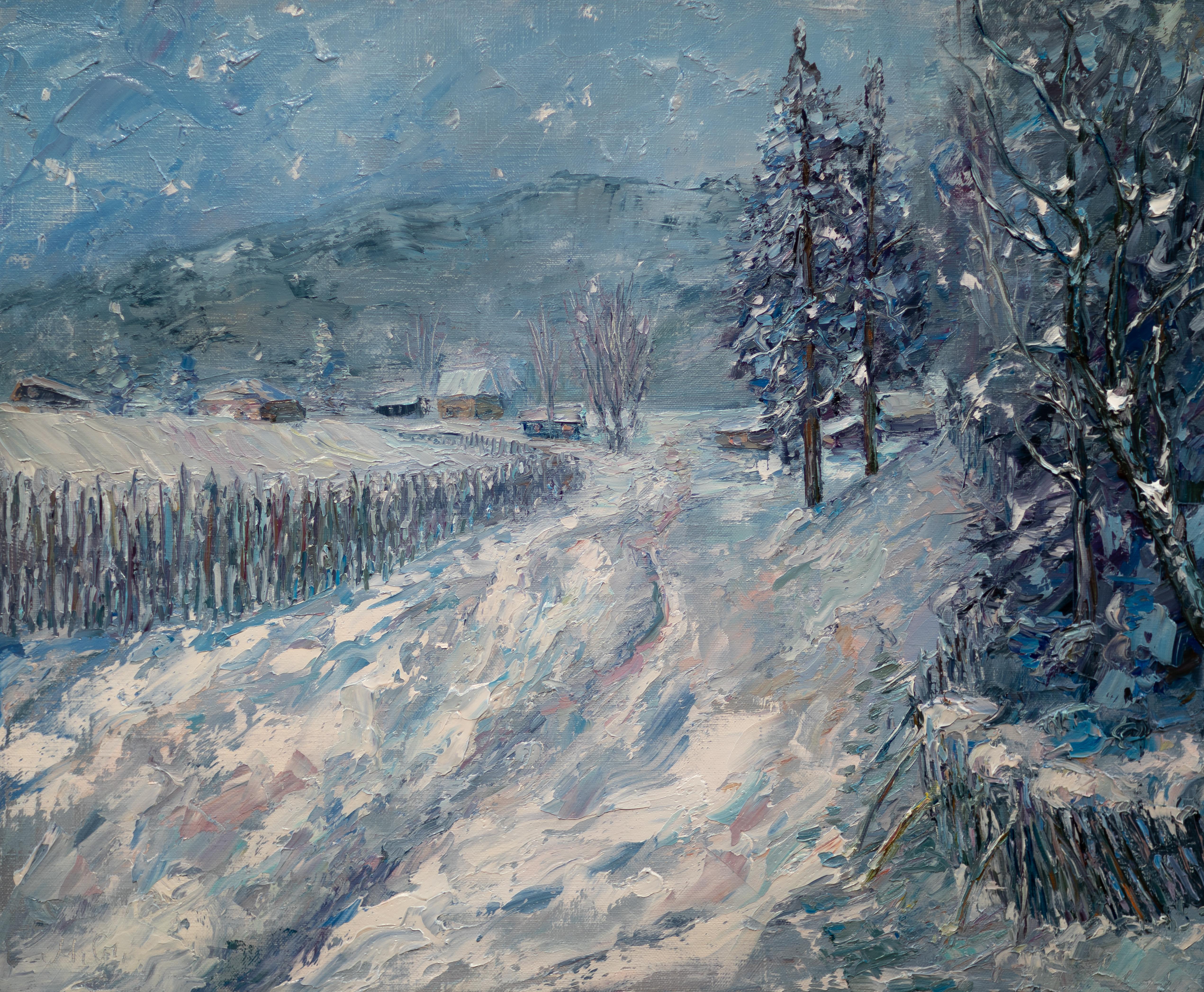 Зима в Мысках