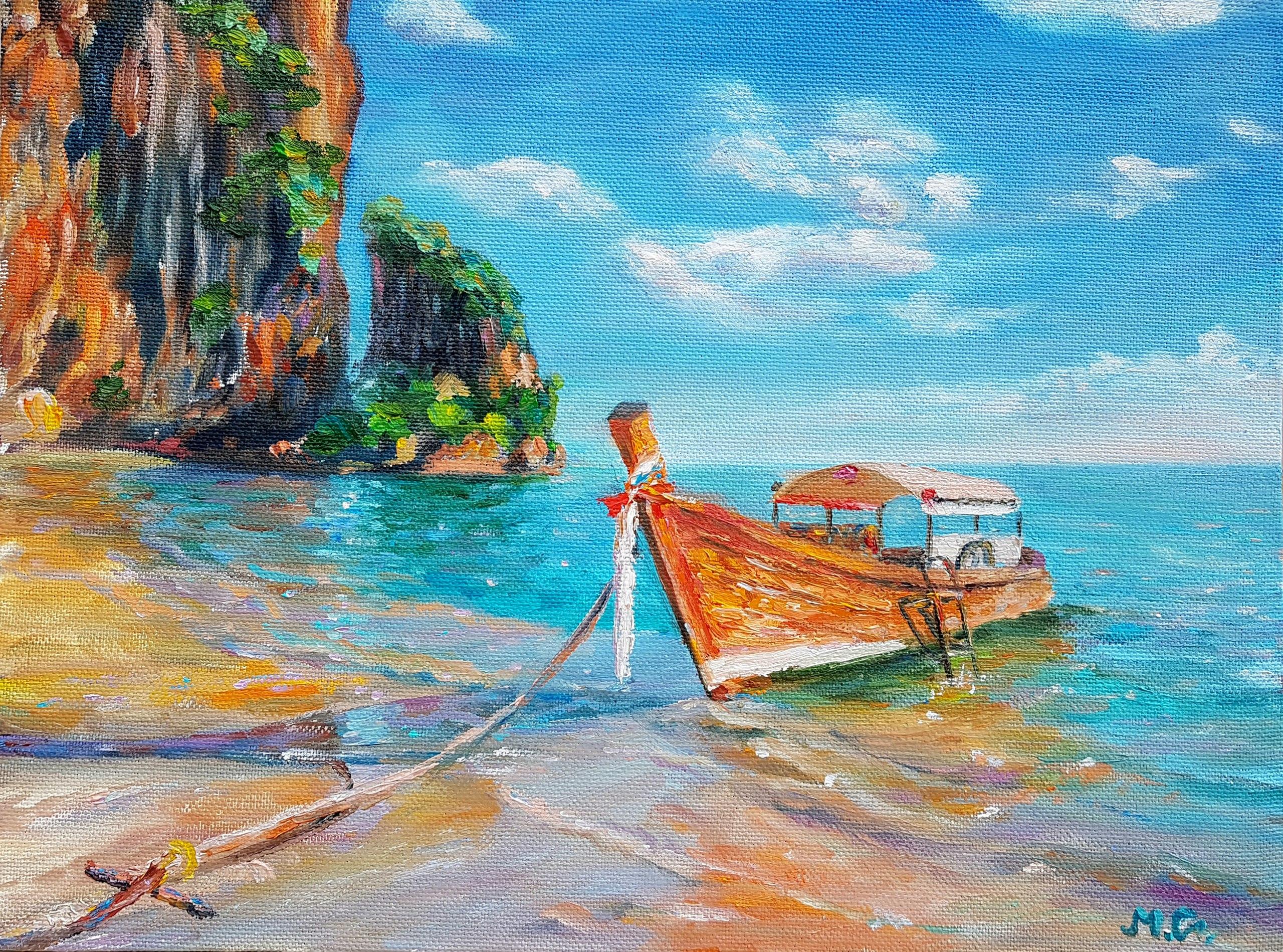 Тропики, живопись