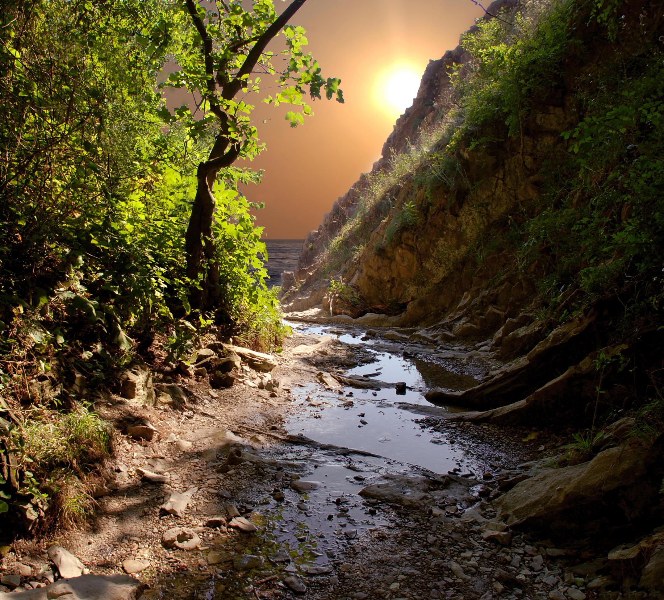 Ущелье скалы Киселёва